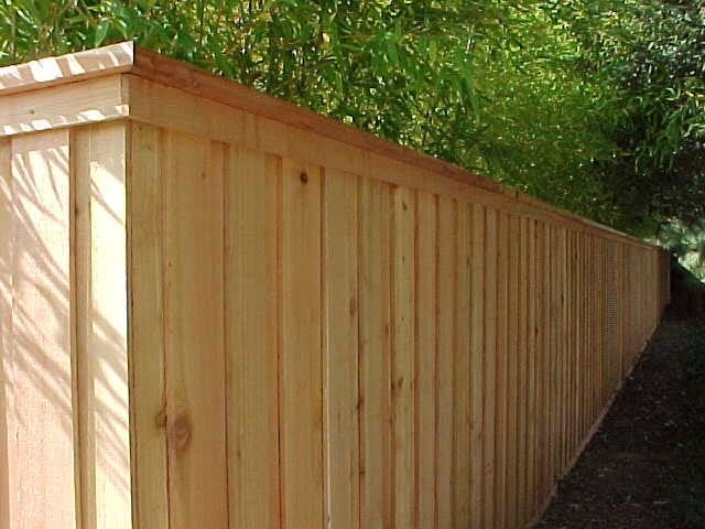 Cap Amp Trim Wood Fence Yelp