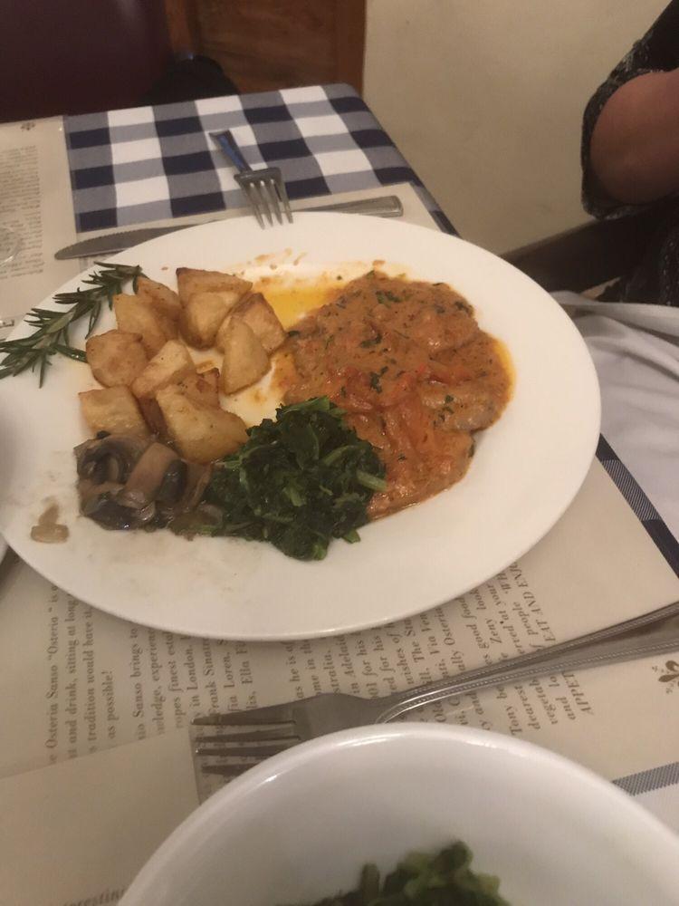 Osteria Sanso Restaurant