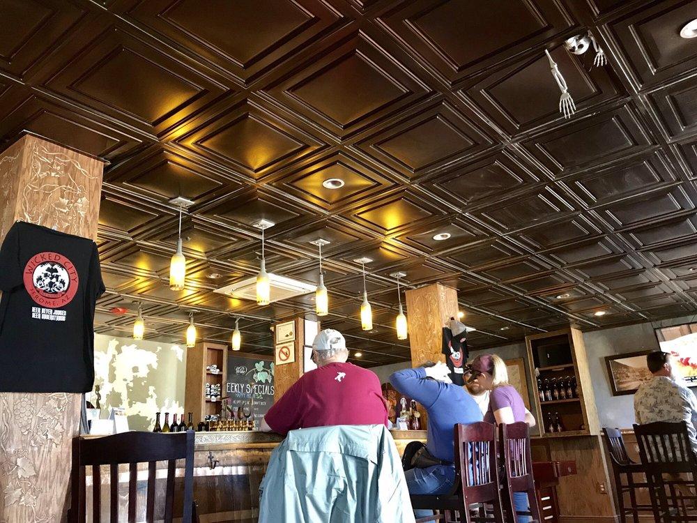 Wicked City Brew: 403 Clark St, Jerome, AZ