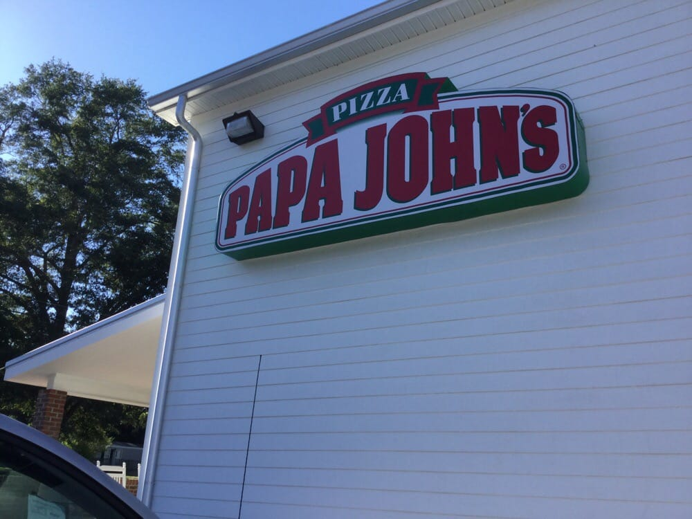 Food from Papa John's Pizza