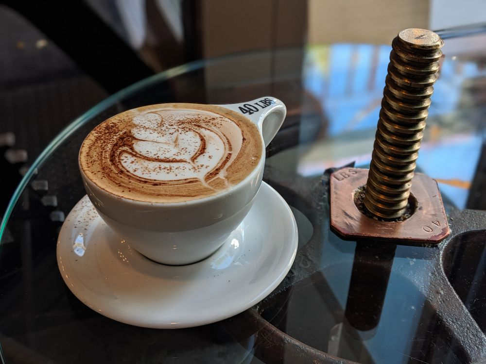 40 LBS Coffee Bar: 824 SW 2nd Ave, Portland, OR