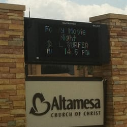 Altamesa Church Of Christ Religious Organizations 6717 S Hulen
