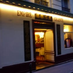 Restaurant Empire Celeste Paris