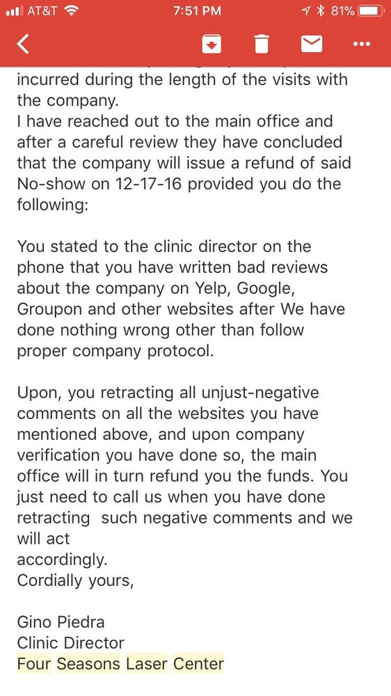Agreed To Issue Refund But Called And Left Message Several Times