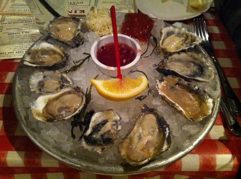 9 oysters sample yelp for King s fish house mission valley