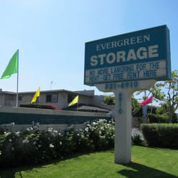 Photo Of Evergreen Self Storage   Buena Park, CA, United States. The Signage
