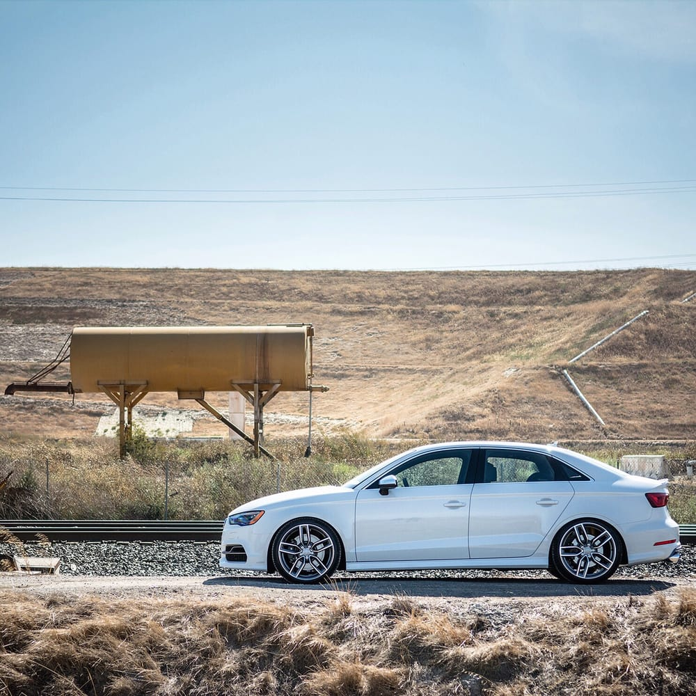 Will's Audi S3 With Bilstein Coilovers, AWE Exhaust, And