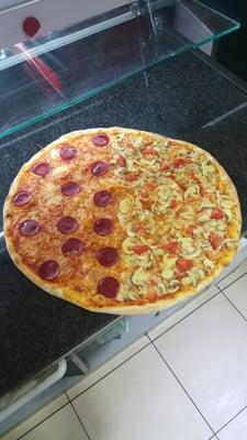 familien pizza