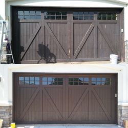 Superbe Photo Of Brelu0027s Custom Painting   Denver, CO, United States. Before And  After. Before And After Garage Door