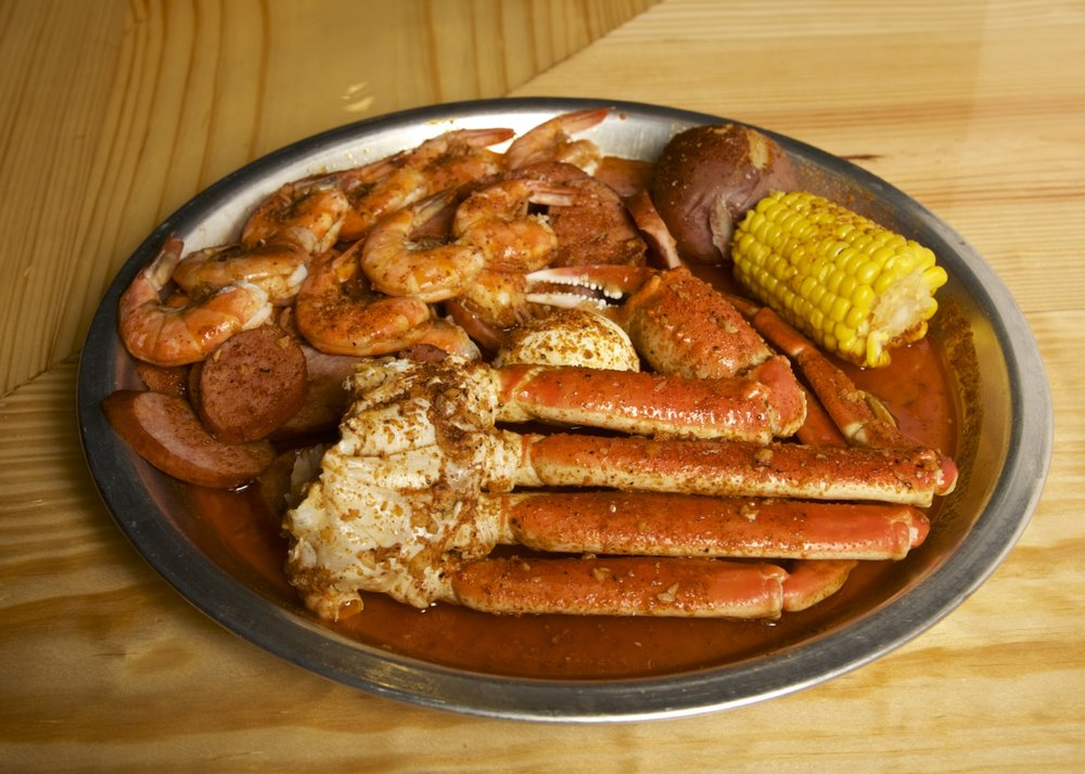 Pier 88 Boiling Seafood and Bar: 2119 W Britton Rd, The Village, OK