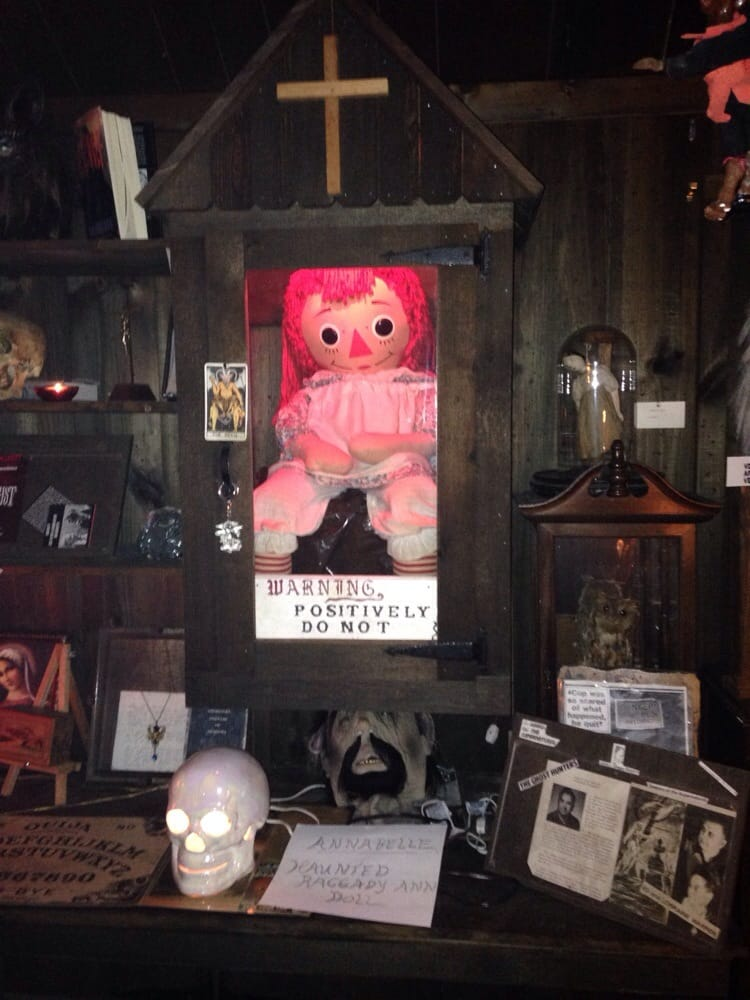 Warren Occult Museum Museums Monroe Ct Yelp