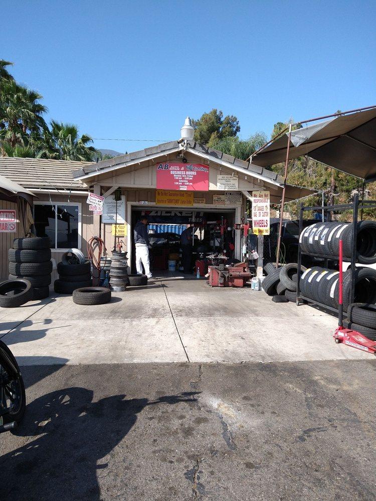 AB Auto Repair & Tire Shop: 15353 Grand Ave, Lake Elsinore, CA