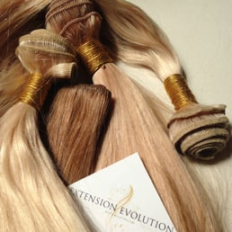 Extension evolution hair extensions 7119 sunset blvd photo of extension evolution los angeles ca united states our wefted russian pmusecretfo Image collections