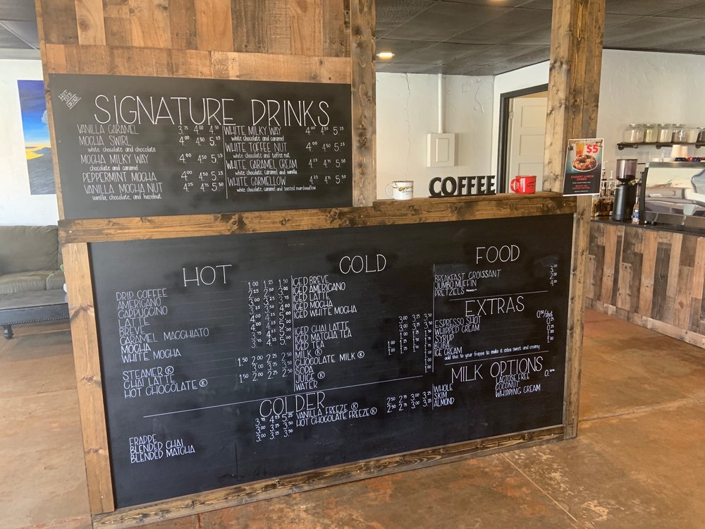 Double Mountain Coffee: 1514 Commercial Ave, Anson, TX