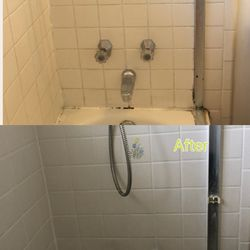 Photo Of Caleb S New Grout San Jose Ca United States Regrout Bathtub
