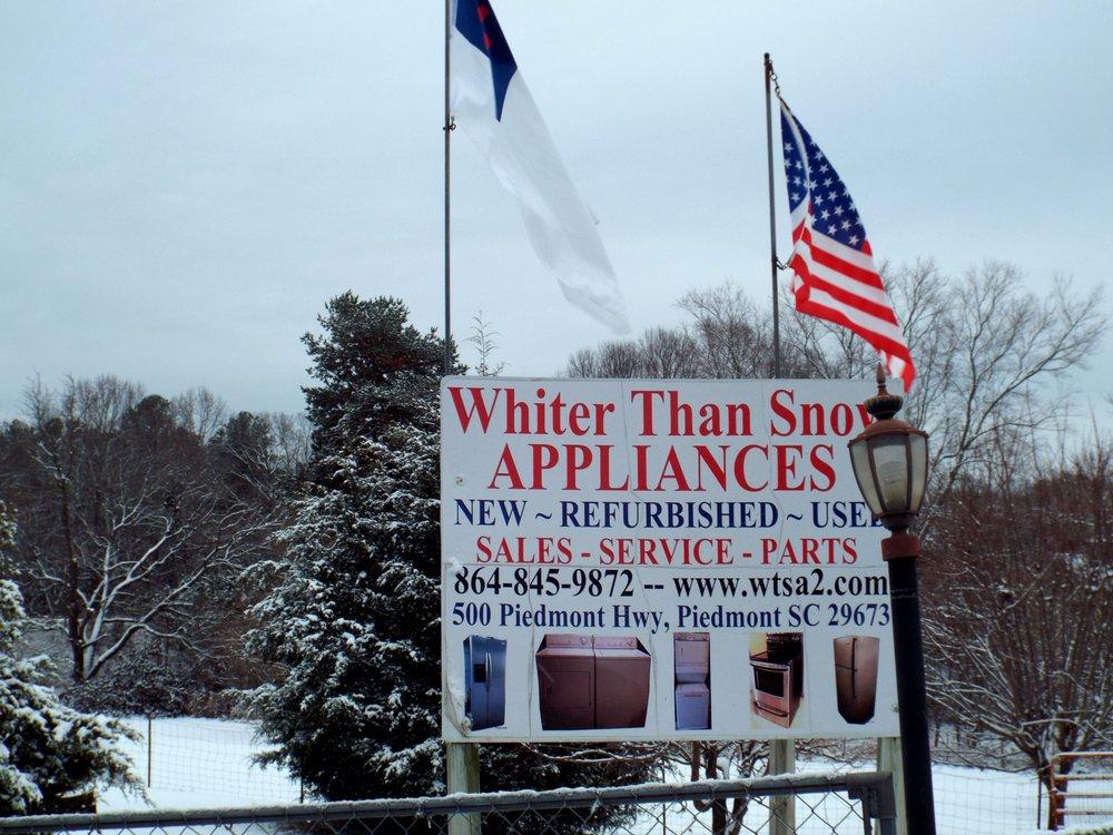 Whiter Than Snow Appliances: 500 Piedmont Hwy, Piedmont, SC