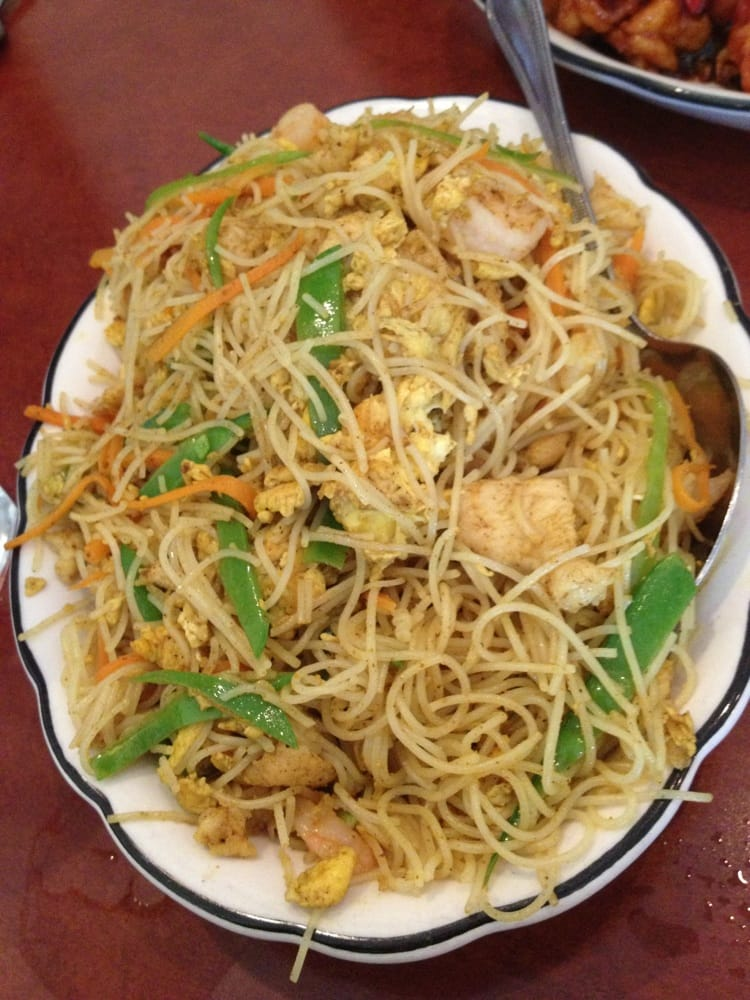 how to make singapore curry noodles