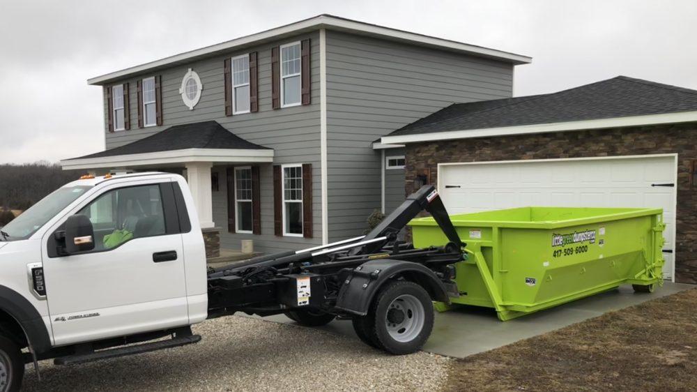 Little Green Dumpster: Bolivar, MO