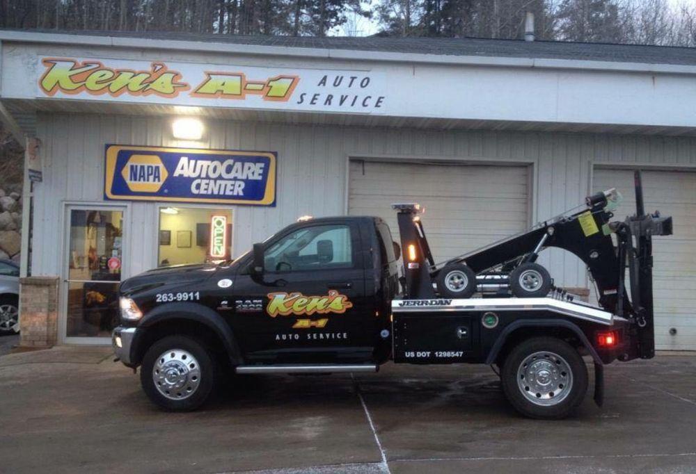 Ken's A-1 Auto & Tow Service: 1501 E Howard St, Hibbing, MN