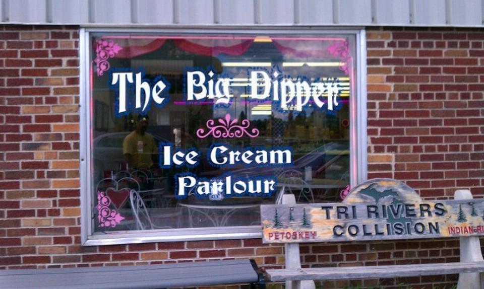Big Dipper Ice Cream Parlour: 106 S Main St, Cheboygan, MI