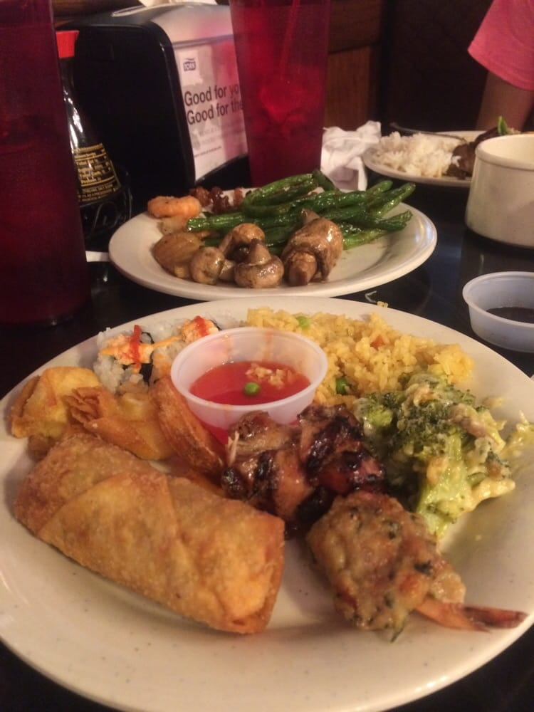 Photo Of Buffet Palace Tulsa Ok United States Typical Chinese Food