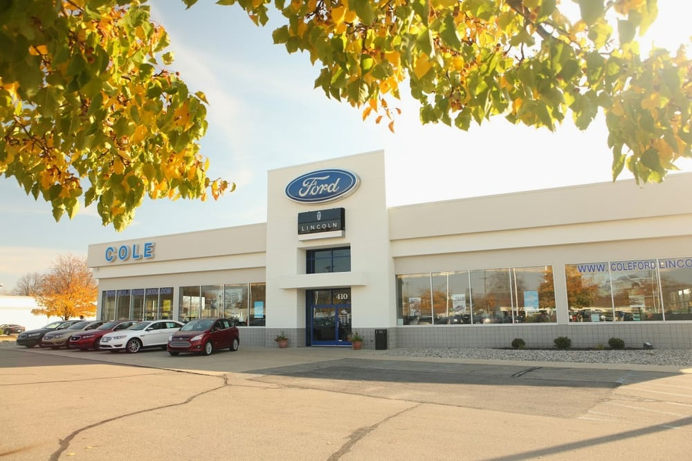 cole ford lincoln dealerships 410 e chicago st coldwater mi united states phone number. Black Bedroom Furniture Sets. Home Design Ideas