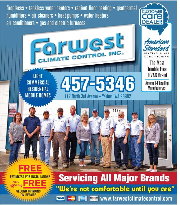 Farwest Climate Control: 112 N 3rd Ave, Yakima, WA