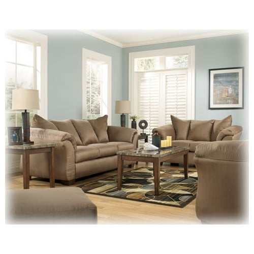 Ashley Sofas Prices: Darcy Mocha Sofa & Loveseat By Ashley Furniture Sale Price
