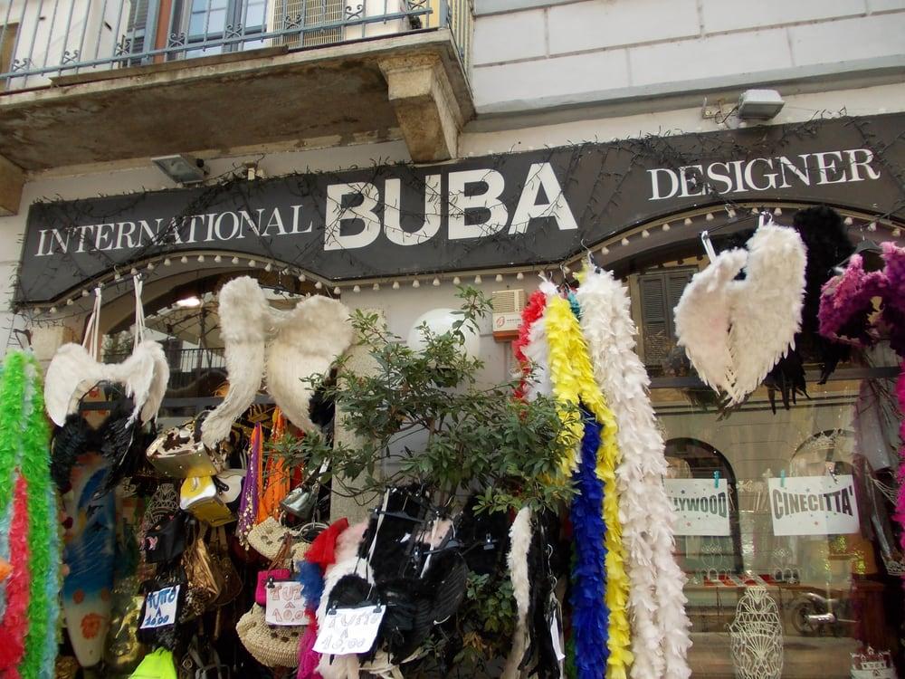 Buba international designer fashion via spallanzani 6 for Fashion designer milano