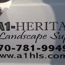 A1-Heritage Landscape Supply - 10 Photos - Building Supplies - 3615