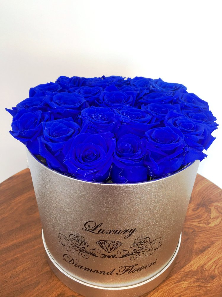 Photo Of Luxury Diamond Flowers Miami Fl United States Blue