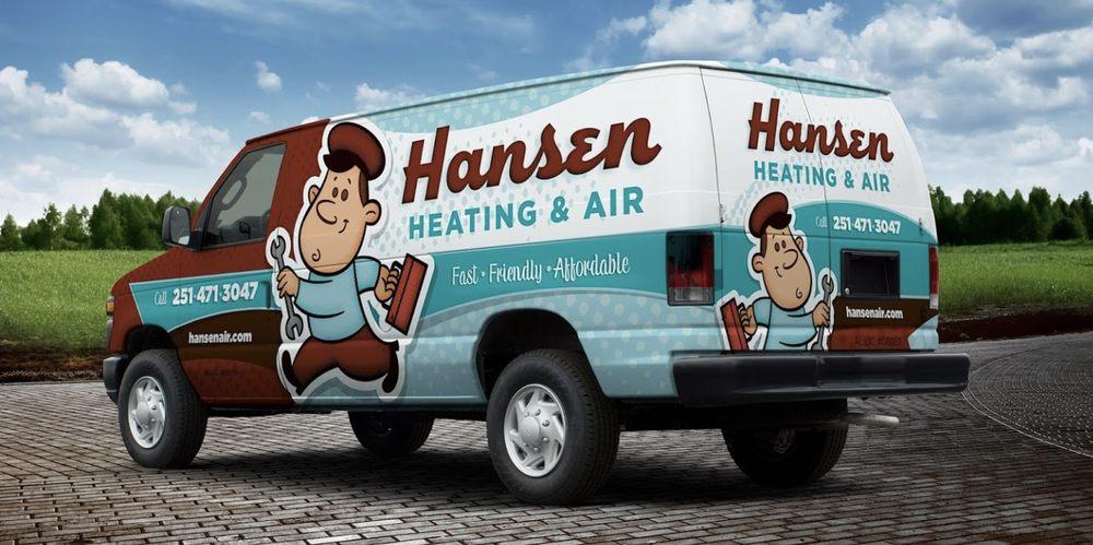 Hansen Heating & Air: 5821 Rangeline Rd, Theodore, AL