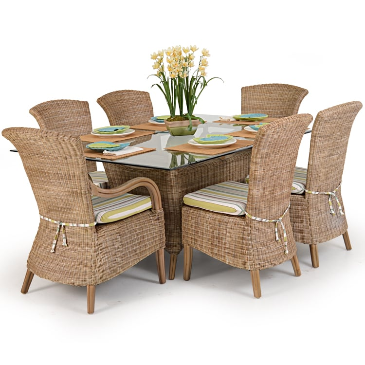 Andros wicker and rattan dining set yelp