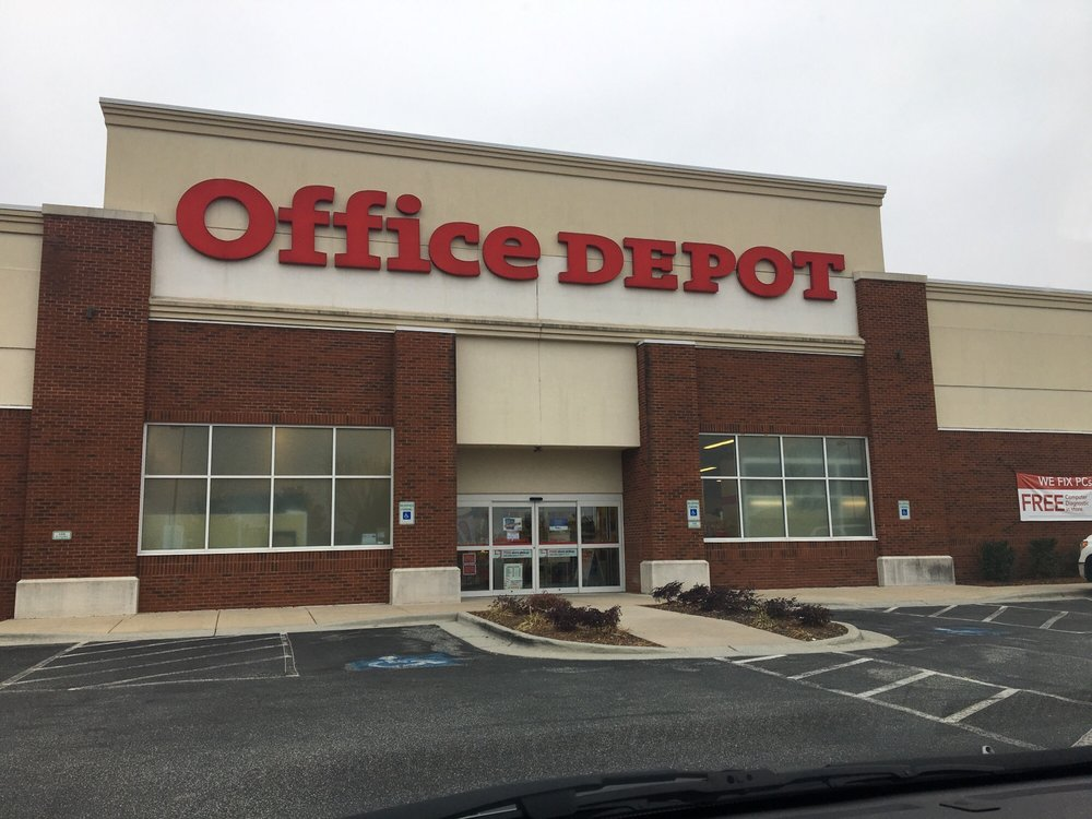 the business end of office depot yelp. Black Bedroom Furniture Sets. Home Design Ideas