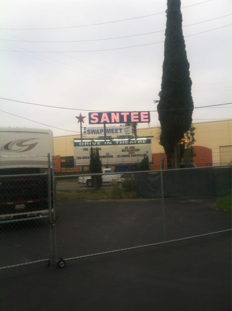 Santee drive in swap meet hours