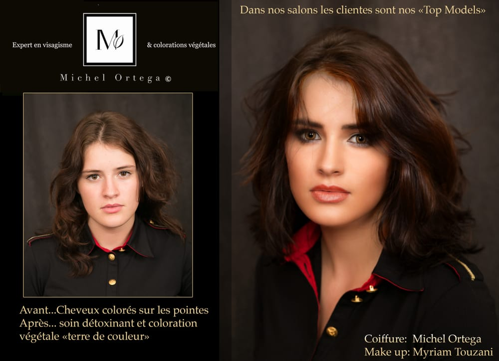 Coloration naturelle cheveux terre de couleur