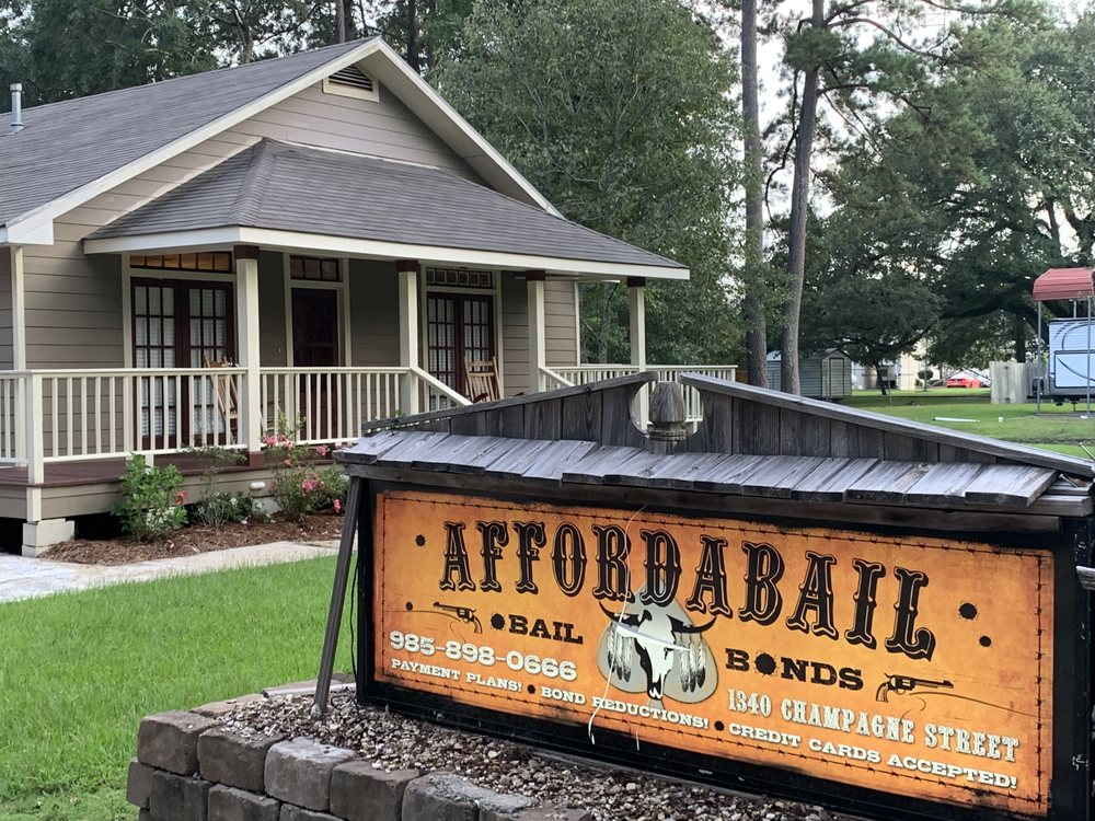 Affordabail Bail Bonds: 1340 Champagne St, Covington, LA