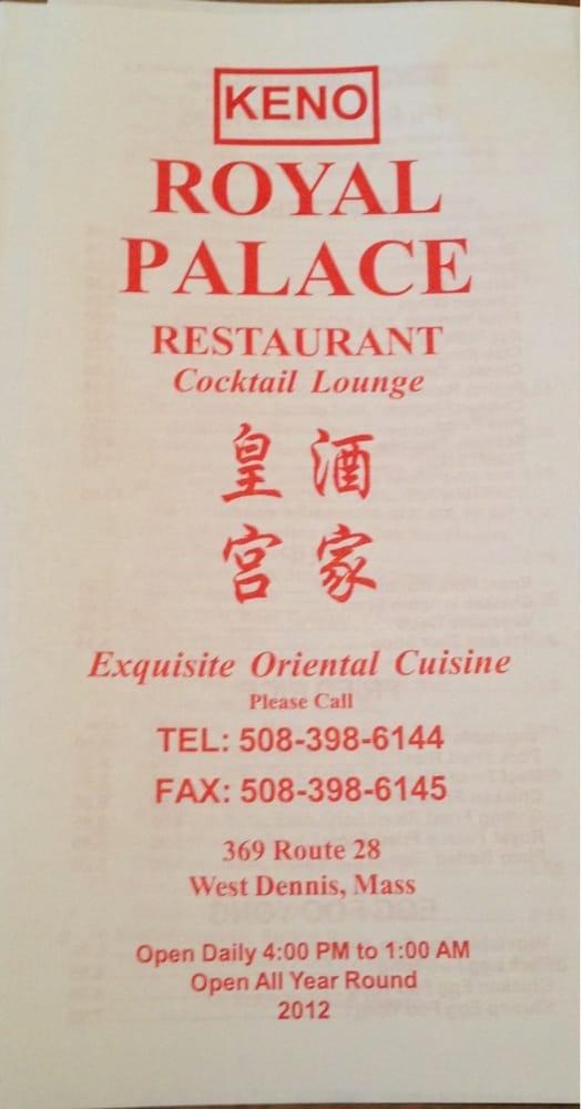 Royal Palace Restaurant 10 Reviews Chinese 369 Main