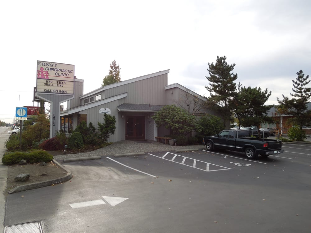 Ernst Chiropractic Clinic: 16714 Smokey Point Blvd, Arlington, WA