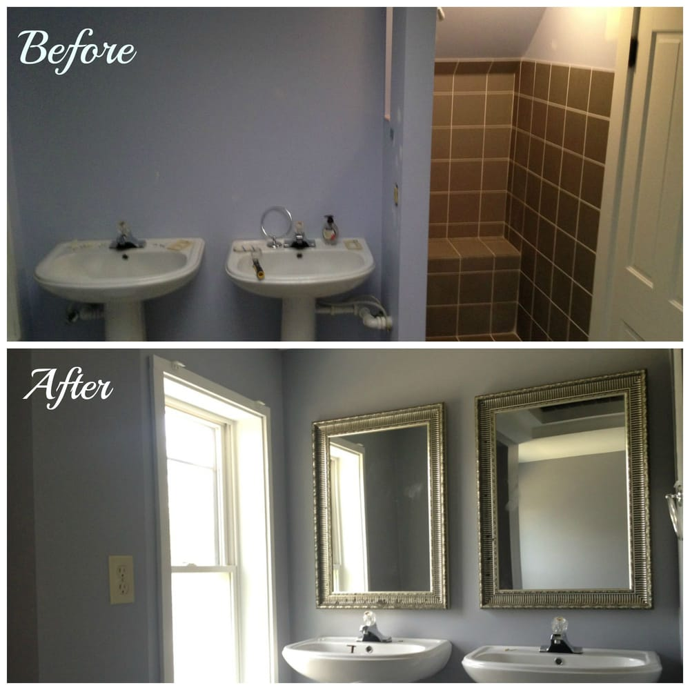 Bathroom remodel before after yelp for Bathroom remodel yelp