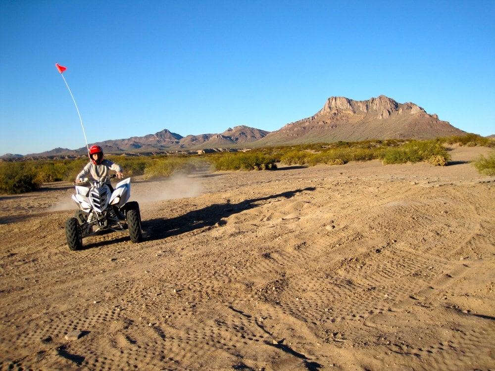 Hot Well Dunes Recreation Area: Bowie, AZ