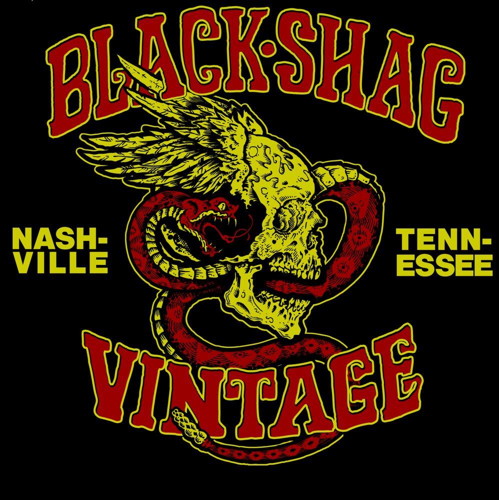 Black Shag Vintage
