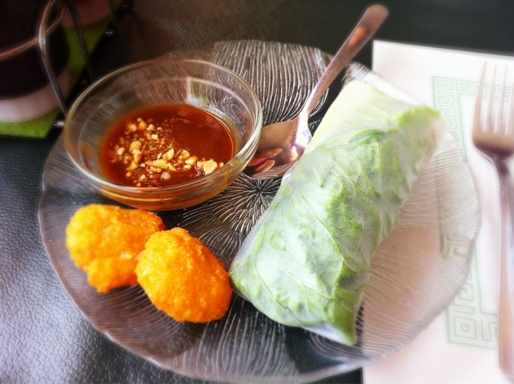 Spring roll corn nuggets lunch special with the pho yelp - Malabar indian cuisine richmond va ...