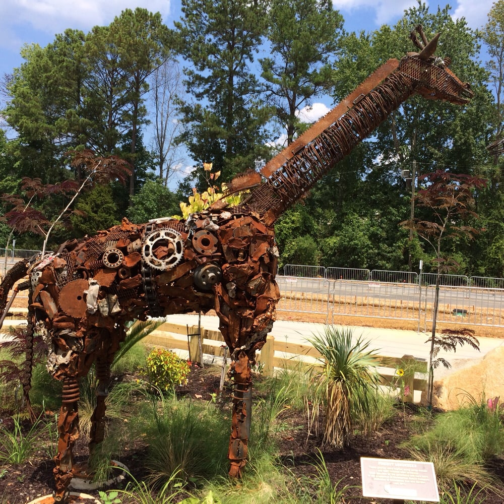Riverbanks Zoo and Botanical Garden - Columbia, SC - Recycled Metal ...