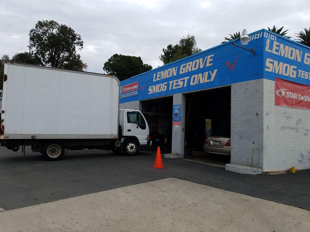 Lemon Grove Test Only Station: 8181 Broadway, Lemon Grove, CA