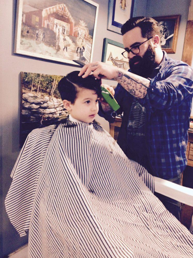Calabrese's Barber Shop: 33 W Front St, Keyport, NJ