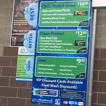 Handy Andy Car Wash Price List