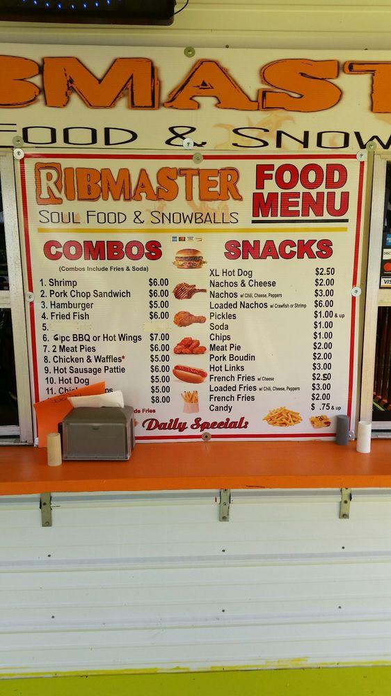 Rib Master: 715 Hanks St, Breaux Bridge, LA
