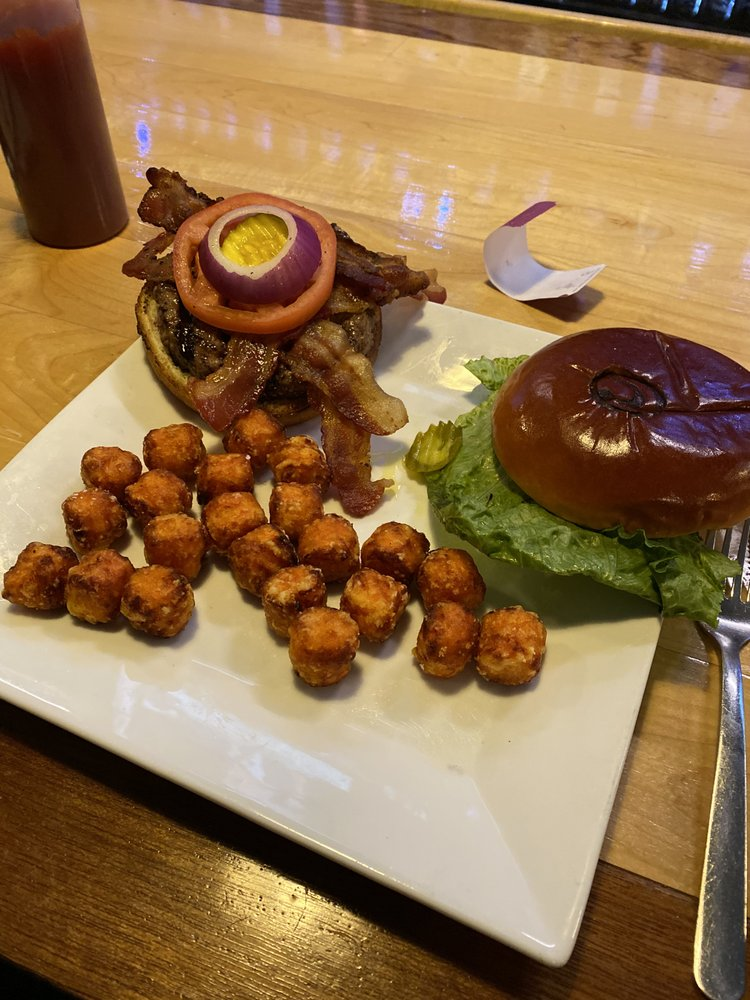 Food from Cowbell Grill & Tap