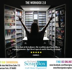 The Original Scrapbox Kunst En Ambacht Ut Ut Verenigde